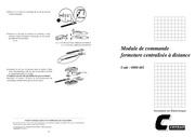 module de commande fermeture centralisee m320