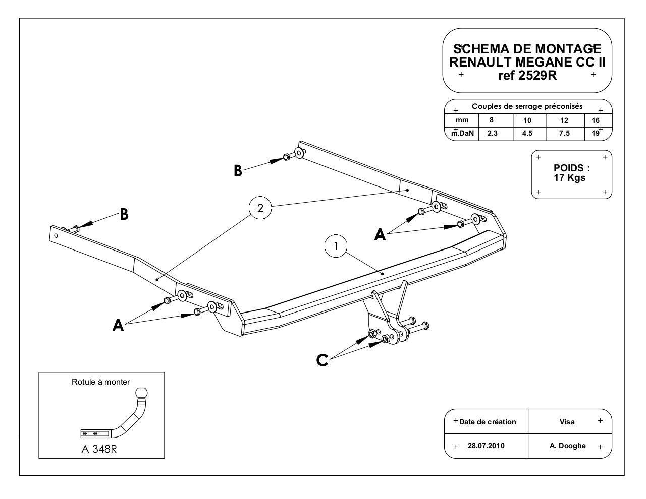 montage crochet d 39 attelage renault m gane iii fichier pdf. Black Bedroom Furniture Sets. Home Design Ideas