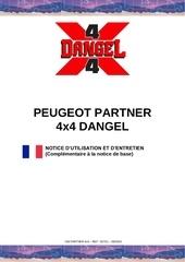 Fichier PDF notice peugeot partner 4x4 dangel