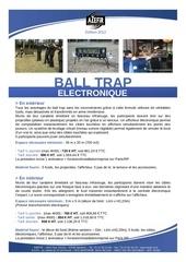 ball trap electronique 2012