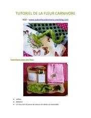 Fichier PDF tutoriel de la fleur carnivore