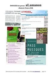 alamanon dossier de presse 2012 1