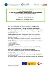 ordre du jour 1er cdp cap vert