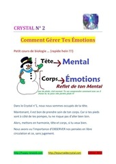 crystal 2 Emotions