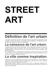 Fichier PDF streetart
