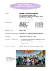 Fichier PDF athletisme