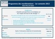 dfcg nord programme 2013