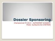 dossier sponsoring championnat f4 guillaume du cheyron