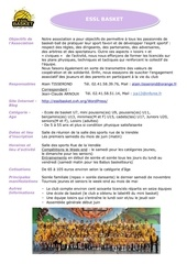 essl basket guide associations 2012