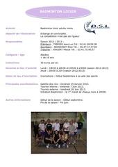 Fichier PDF fiche annuelle badminton livret mairie
