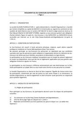 2013 reglement jc quizzsochic