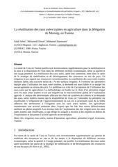 Fichier PDF la reutilisation des eaux usees traitees en agriculture dans la delegation de morneg