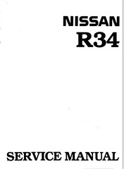 r34 all workshop manual