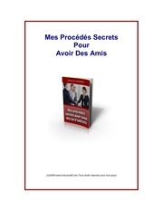 Fichier PDF secret amis