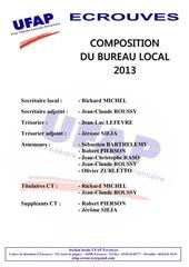 bureau local 2013
