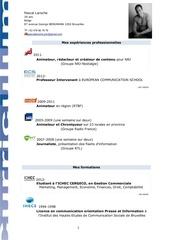 Fichier PDF pascal laroche cv
