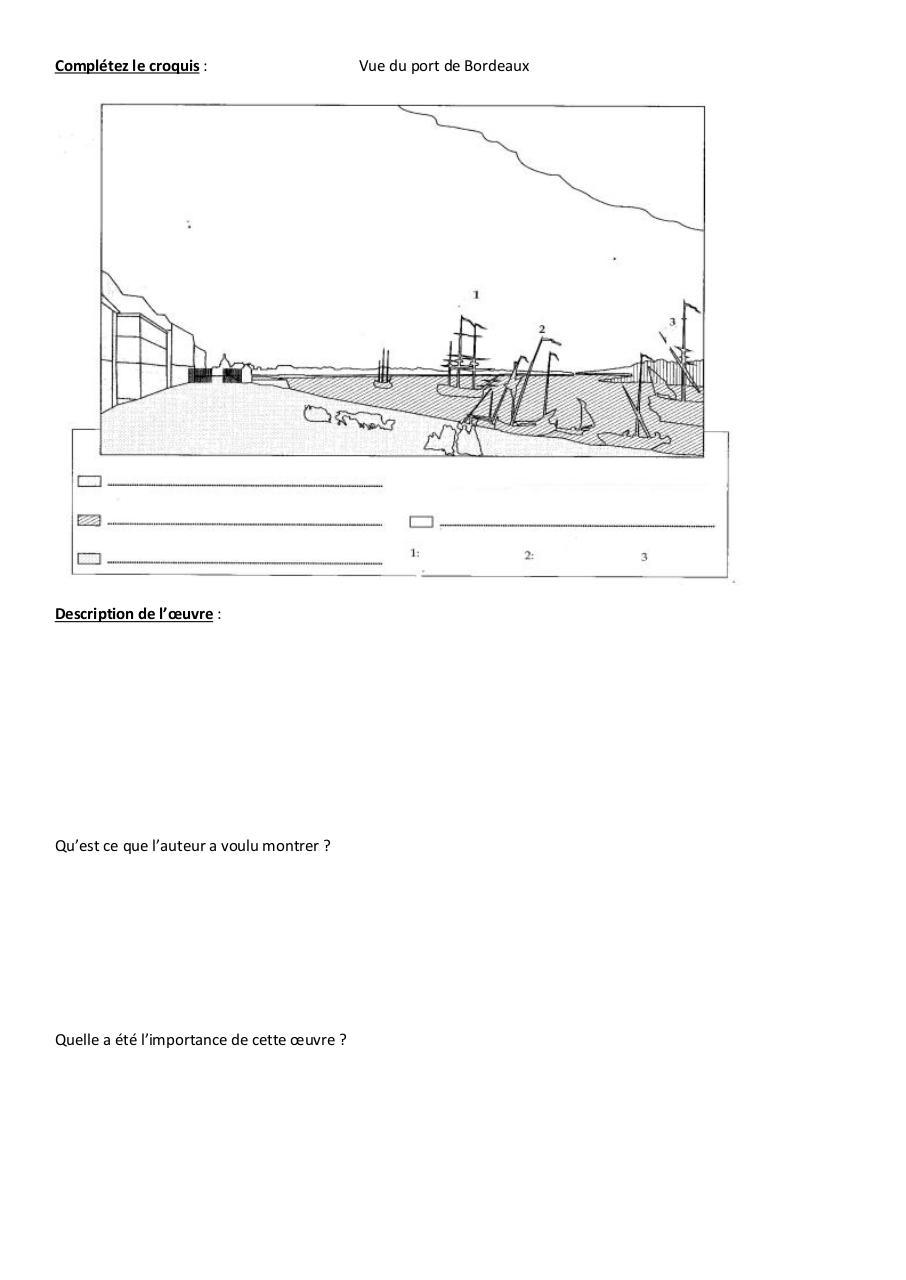 Hda par fran oise pitou fichier pdf - Le port de bordeaux par joseph vernet ...