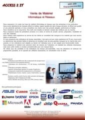 Fichier PDF datasheet materiel