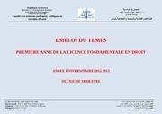 Fichier PDF et 1er find sem ii