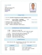 cv etudes 2013