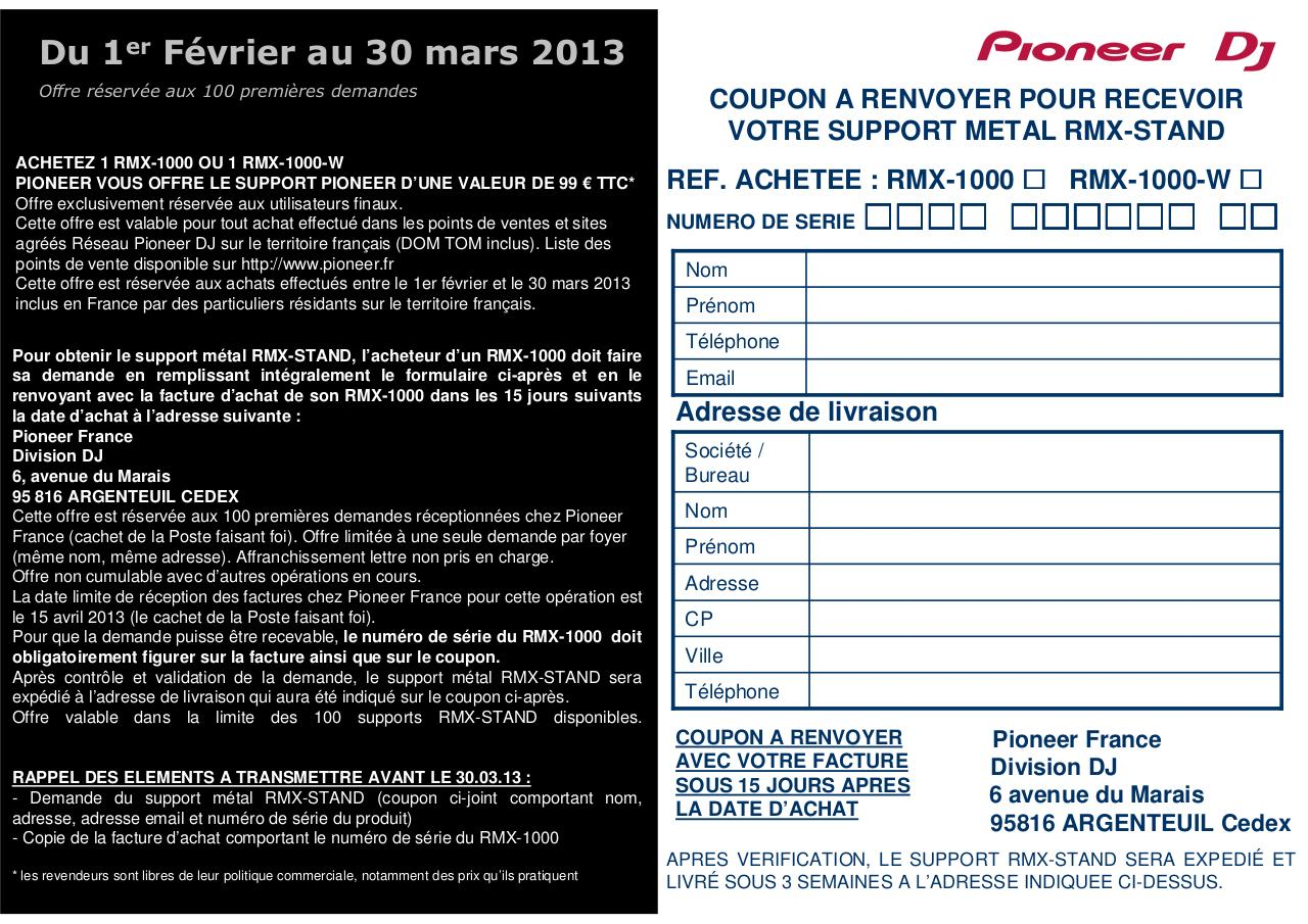 Pioneer_Offre omagasin.pdf - page 2/2