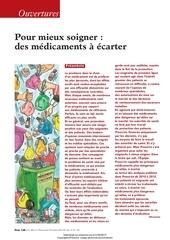 Fichier PDF pour soigner au mieux des medicaments a ecarter
