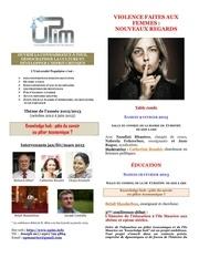 programme upim 1er trim 2013