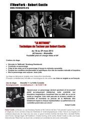 stage robert castle marseille 1