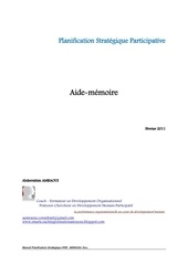 planification strategique participative amraoui doc