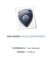 san fierro police departement
