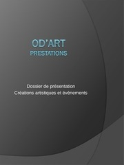 od art prestations