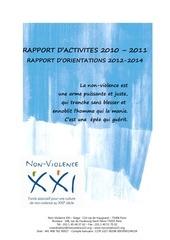 rapport d activites nvxxi ag310312