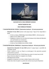 navigation 31 mars 2013