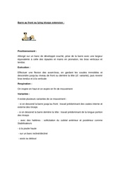 Fichier PDF triceps exercices