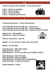 01 repertoire francais et anglais 2013