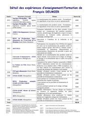 2013 01 03 liste des enseignements