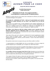 Fichier PDF voeu reforme scolaire resume