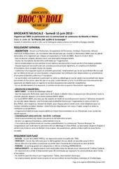 Fichier PDF broc n roll reglement