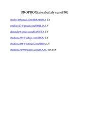 Fichier PDF document dropbox