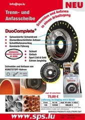 flyer disque duo complete sps