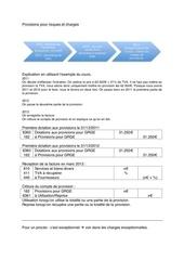 Fichier PDF provisions