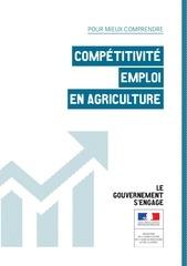 competitivite emploi en agriculture