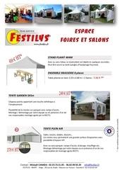 locations pour foires et salons festilys