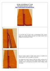 13 06 fente placee dans une couture