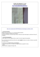 13 10 patte boutonnage chemisier