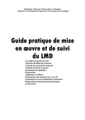 Fichier PDF guide pratique de mise en oeuvre et de suivi du lmd fr