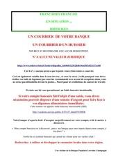 Fichier PDF banque et recommande