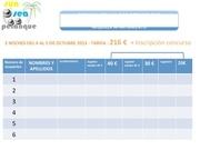 formulaire reservation appmt concours international 2 es