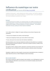 Fichier PDF influence du nume rique sur notre civilisation scoop it