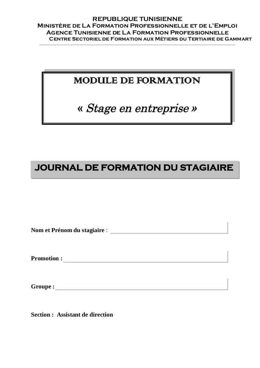 Journal de formation AD.pdf - page 1/19